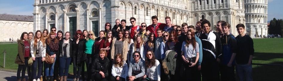 Strokovna ekskurzija v Italijo
