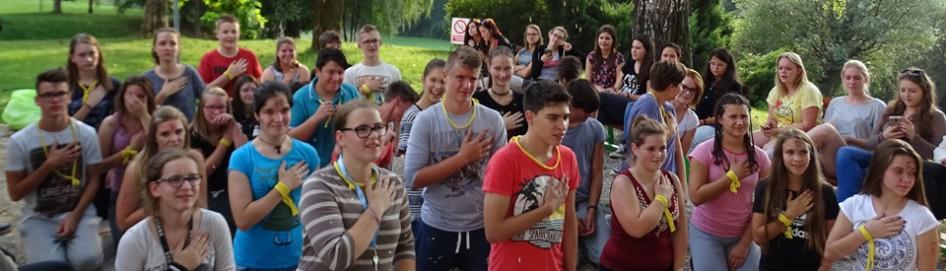 Krst novincev in piknik v dijaškem domu